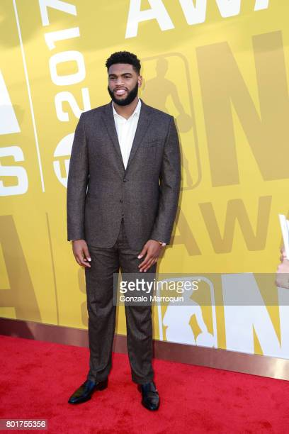 NBA player Alan Williams attends the 2017 NBA Awards at Basketball City Pier 36 South Street on June 26 2017 in New York City