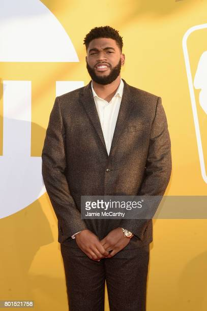 NBA player Alan Williams attends the 2017 NBA Awards live on TNT on June 26 2017 in New York New York 27111_003