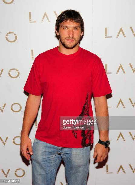 NHL player Alex Ovechkin arrives to host pre NHL Awards at Lavo on June 22 2010 in Las Vegas Nevada