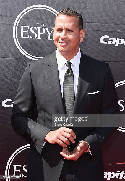 MLB player Alex Rodriguez attends The 2015 ESPYS at Microsoft Theater on July 15 2015 in Los Angeles California