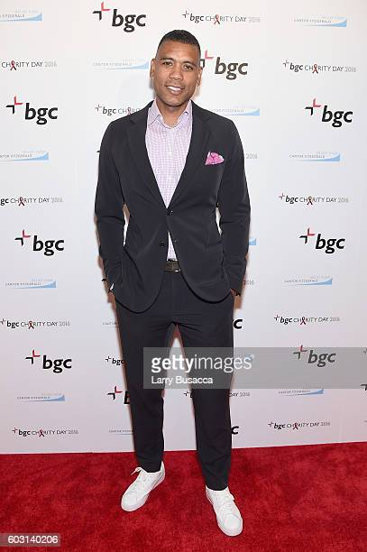 NBA player Allan Houston attends Annual Charity Day hosted by Cantor Fitzgerald BGC and GFI at BGC Partners INC on September 12 2016 in New York City