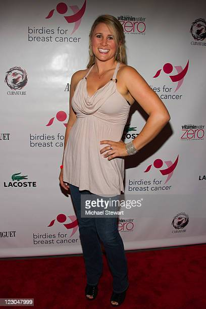 LPGA player Amanda Blumenherst attends the Cristie Kerr Inaugural Liberty CupCharity Golf Tournament KickOff celebration at PhD Dream Downtown Hotel...