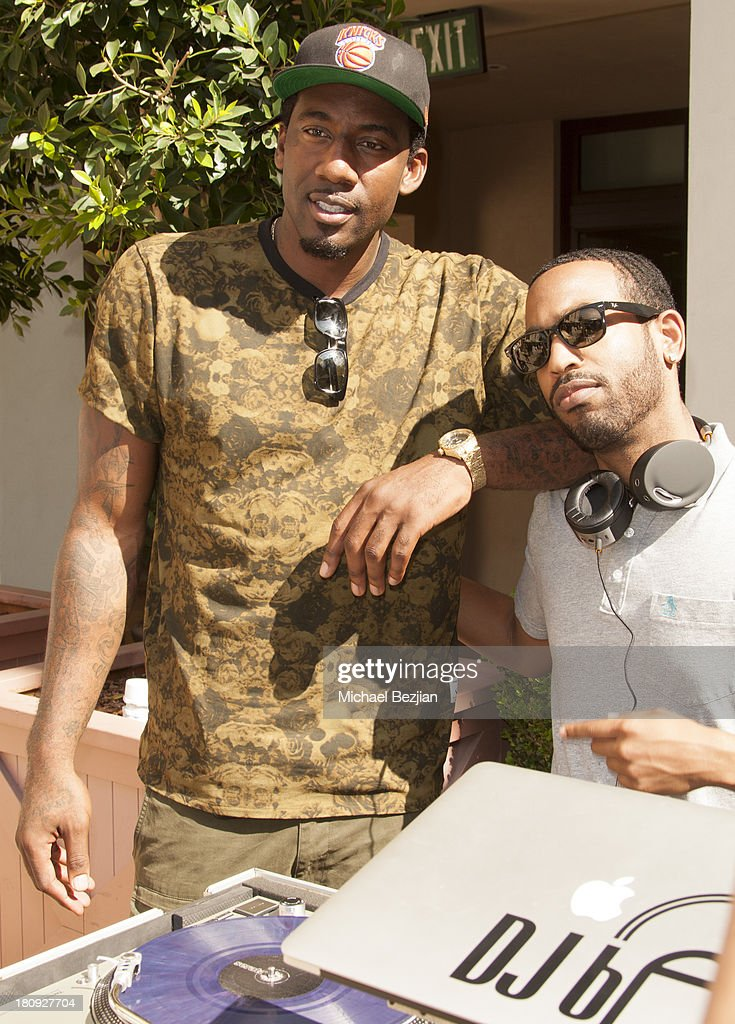 NBA player Amare Stoudemire attends Bellafortuna Luxury Gift Suite Presented By Feri on September 17, 2013 in Beverly Hills, California.