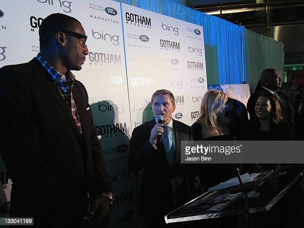 NBA player Amar'e Stoudemire President and CEO of Manhattan Automobile Company Gary Flom Publisher of Niche Media Debra Halpert and EditorinChief of...