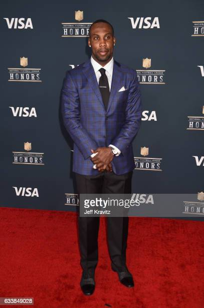 Player Anquan Boldin attends 6th Annual NFL Honors at Wortham Theater Center on February 4, 2017 in Houston, Texas.