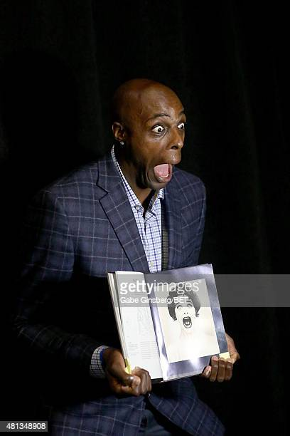 NBA player Anthony Tolliver of the Detroit Pistons attends The Players' Awards presented by BET at the Rio Hotel Casino on July 19 2015 in Las Vegas...