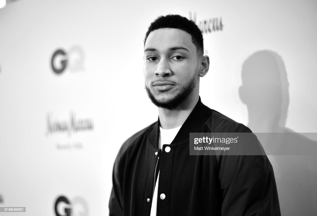 Neiman Marcus x GQ All Star Weekend Event with Ben Simmons : Nachrichtenfoto