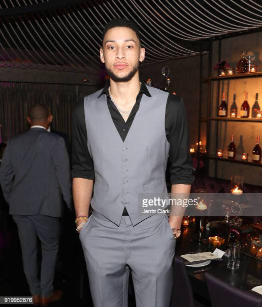 Player Ben Simmons attends the Klutch Sports Group More Than A Game Dinner Presented by Remy Martin at Beauty Essex on February 17 2018 in Los...