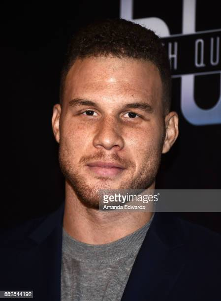 """Player Blake Griffin arrives at the premiere of OBB Pictures and go90's """"The 5th Quarter"""" at United Talent Agency on November 29, 2017 in Beverly..."""
