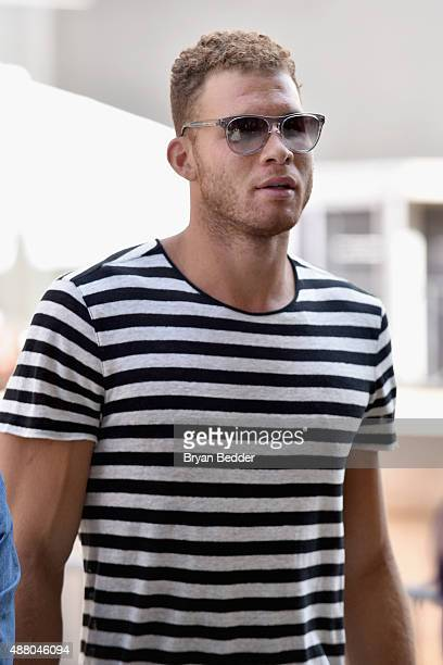 Player Blake Griffin seen around Spring 2016 New York Fashion Week: The Shows - Day 4 on September 13, 2015 in New York City.