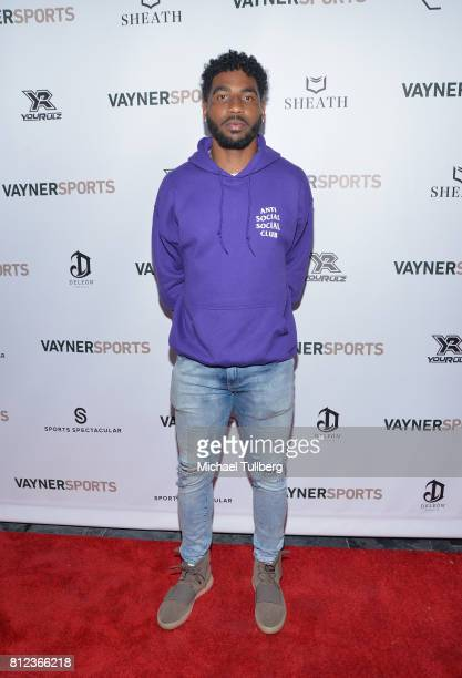 NFL player Braxton Miller attends VaynerSports' Annual Celebrity ESPYS Kickoff Party at Avenue on July 10 2017 in Los Angeles California