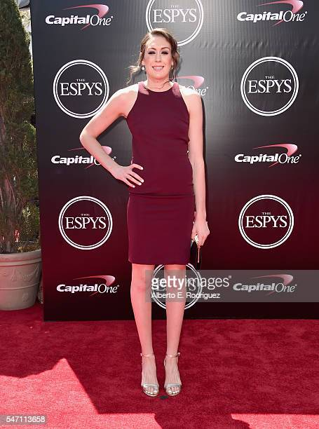 WNBA player Breanna Stewart attends the 2016 ESPYS at Microsoft Theater on July 13 2016 in Los Angeles California