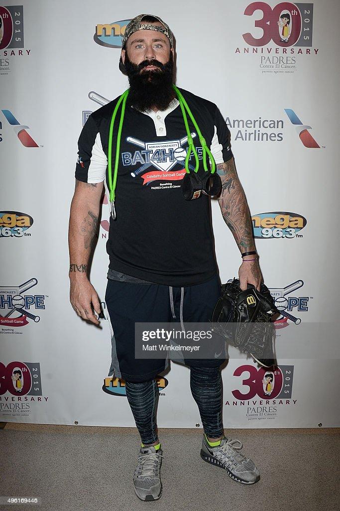 Adrian Gonzalez's Bat 4 Hope Celebrity Softball Game PADRES Contra El Cancer