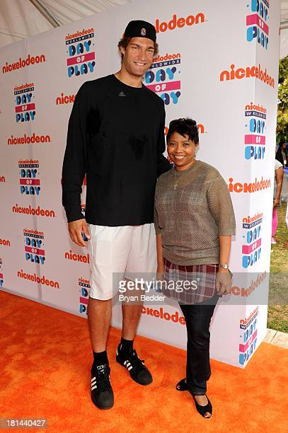 NBA player Brook Lopez and Executive Vice President of Global Inclusion Strategy Viacom Media Networks Executive Vice President of Public Affairs and...