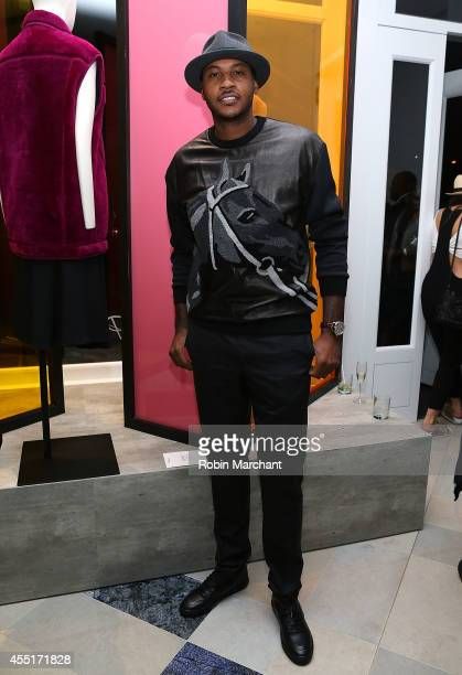 NBA player Carmelo Anthony attends 31 Phillip Lim NYC Flagship Store Opening on September 9 2014 in New York City