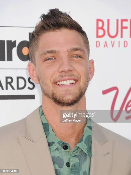 NBA player Chandler Parsons arrives at the 2013 Billboard Music Awards at the MGM Grand Garden Arena on May 19 2013 in Las Vegas Nevada