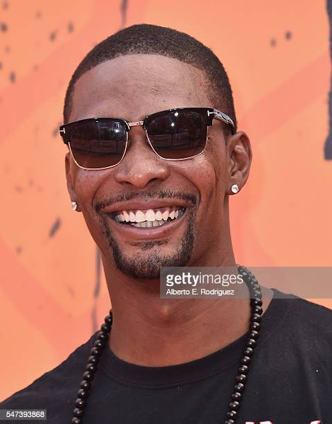 NBA player Chris Bosh attends the Nickelodeon Kids' Choice Sports Awards 2016 at UCLA's Pauley Pavilion on July 14 2016 in Westwood California