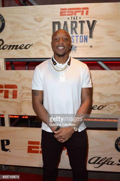 NFL player Chris Harris Jr attends the 13th Annual ESPN The Party on February 3 2017 in Houston Texas