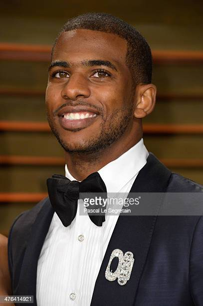 NBA player Chris Paul attends the 2014 Vanity Fair Oscar Party hosted by Graydon Carter on March 2 2014 in West Hollywood California