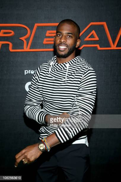 NBA player Chris Paul attends the B/Real Premiere Event at Kimpton La Peer Hotel on October 19 2018 in West Hollywood California