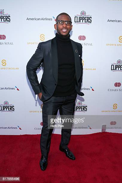 NBA player Chris Paul attends the CedarsSinai Sports Spectacular at W Los Angeles – West Beverly Hills on March 25 2016 in Los Angeles California