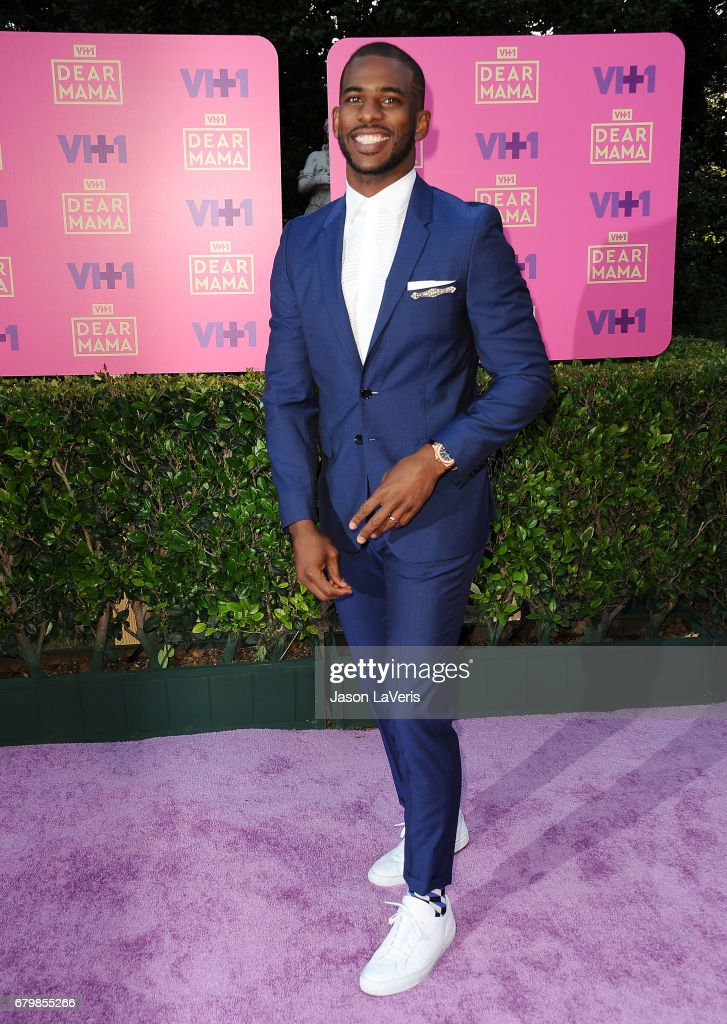 NBA player Chris Paul attends VH1's 2nd annual 'Dear Mama: An Event to Honor Moms' on May 6, 2017 in Pasadena, California.