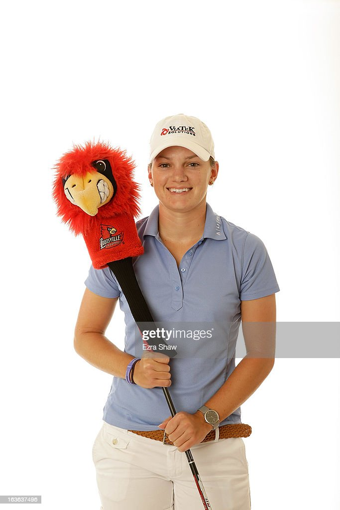 LPGA player Cindy LaCrosse poses for a portrait prior to the start of the RR Donnelley Founders Cup at the JW Marriott Desert Ridge Resort on March 13, 2013 in Phoenix, Arizona.