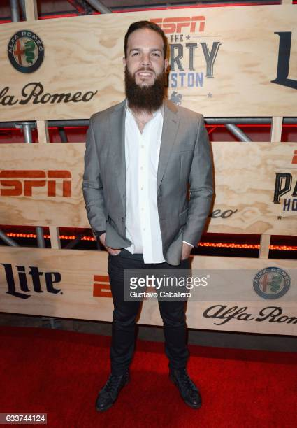 MLB player Dallas Keuchel attends the 13th Annual ESPN The Party on February 3 2017 in Houston Texas
