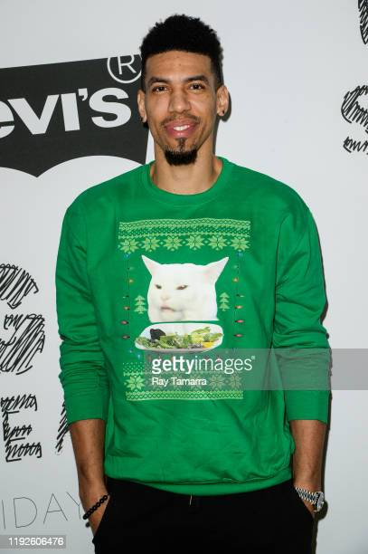Player Danny Green attends the 2nd Annual Juglife Ugly Sweater Holiday Party at Levi's Haus on December 07, 2019 in Los Angeles, California.