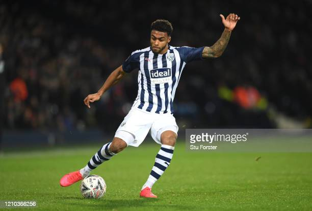 WBA player Darnell Furlong in action during the FA Cup Fifth Round match between West Bromwich Albion and Newcastle United at The Hawthorns on March...