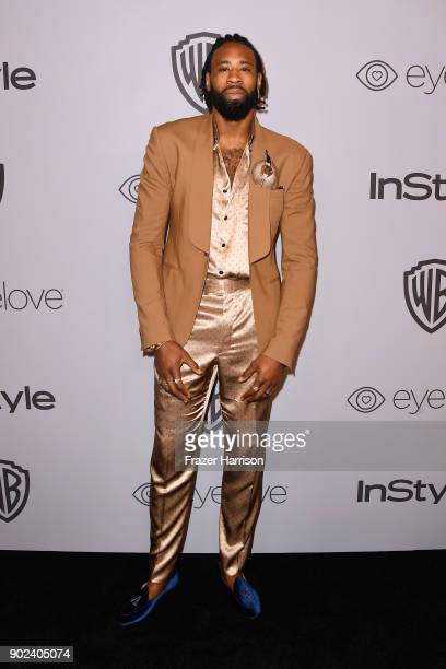 NBA player DeAndre Jordan attends 19th Annual PostGolden Globes Party hosted by Warner Bros Pictures and InStyle at The Beverly Hilton Hotel on...