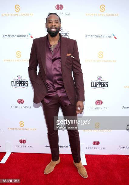 NBA player DeAndre Jordan attends 32nd Annual CedarsSinai Sports Spectacular at W Los Angeles Westwood on April 3 2017 in Los Angeles California