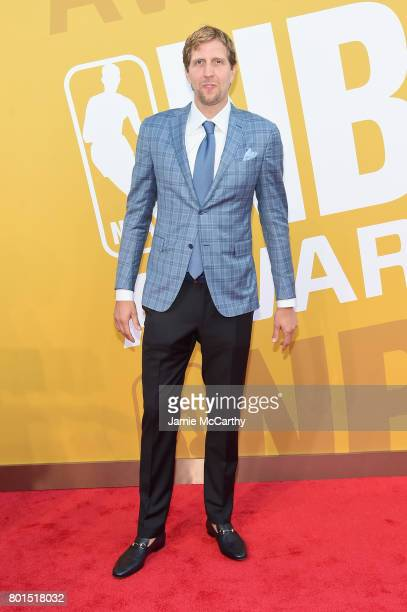 NBA player Dirk Nowitzki attends the 2017 NBA Awards live on TNT on June 26 2017 in New York New York 27111_003