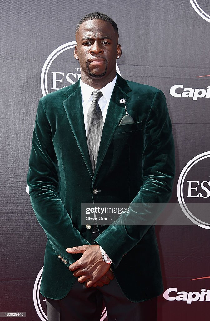 NBA player Draymond Green attends The 2015 ESPYS at Microsoft Theater on July 15, 2015 in Los Angeles, California.
