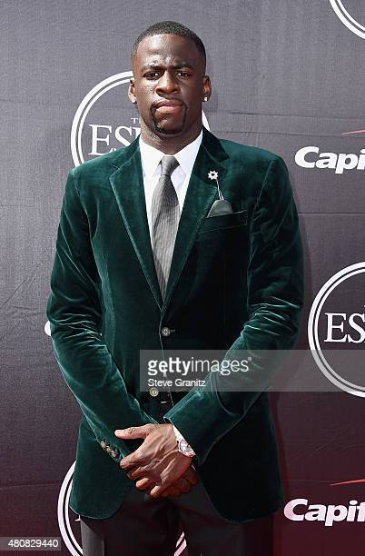 NBA player Draymond Green attends The 2015 ESPYS at Microsoft Theater on July 15 2015 in Los Angeles California