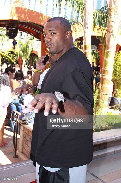 NFL player Dwight Freeny is seen on May 1 2010 on the streets of Las Vegas Nevada