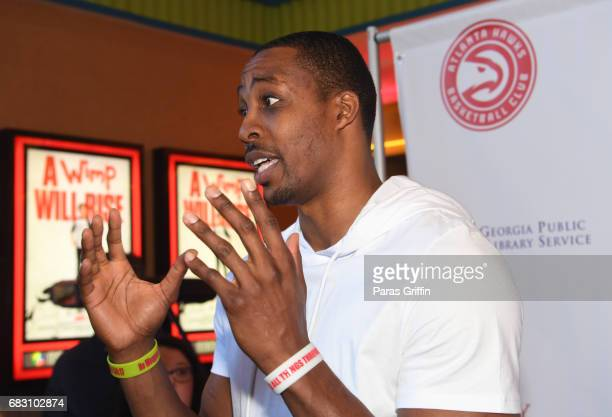 """Player Dwight Howard attends """"Diary Of A Wimpy Kid: The Long Haul"""" Atlanta screening hosted by Dwight Howard at Regal Atlantic Station on May 14,..."""