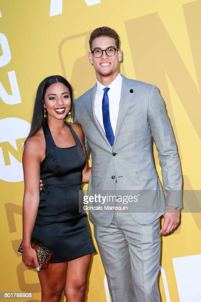 NBA player Dwight Powell attends the 2017 NBA Awards at Basketball City Pier 36 South Street on June 26 2017 in New York City