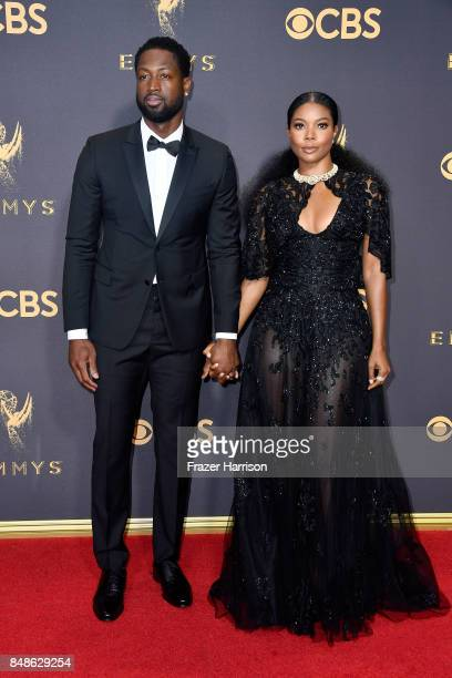NBA player Dwyane Wade and actor Gabrielle Union attend the 69th Annual Primetime Emmy Awards at Microsoft Theater on September 17 2017 in Los...