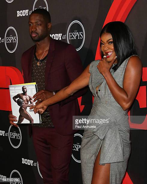 Player Dwyane Wade and Actress Gabrielle Union attend the ESPN Magazine BODY issue party at Avalon Hollywood on July 12 2016 in Los Angeles California