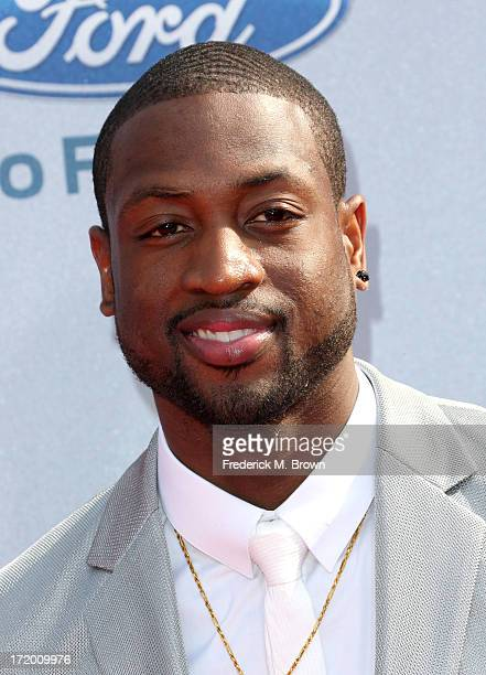 NBA player Dwyane Wade attends the 2013 BET Awards at Nokia Theatre LA Live on June 30 2013 in Los Angeles California