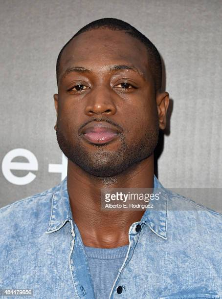 NBA player Dwyane Wade attends the Samsung Galaxy S6 Edge Plus and Note 5 Launch party on August 18 2015 in West Hollywood California