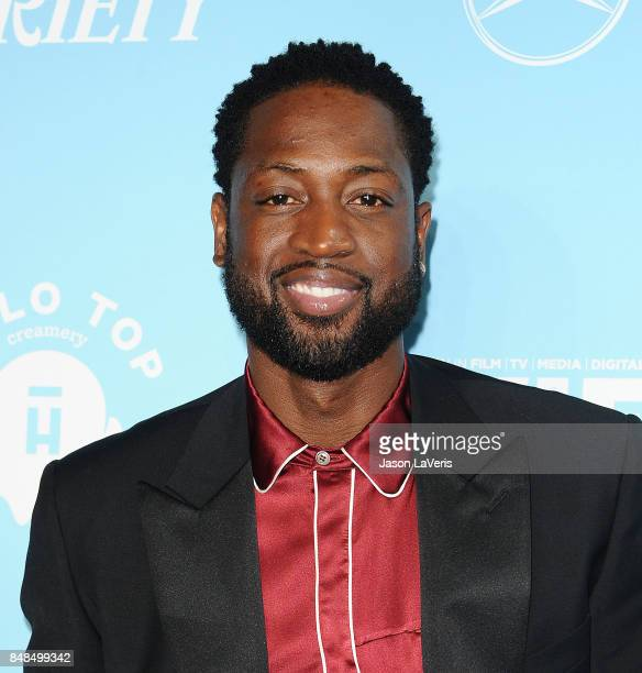 Player Dwyane Wade attends Variety and Women In Film's 2017 pre-Emmy celebration at Gracias Madre on September 15, 2017 in West Hollywood, California.