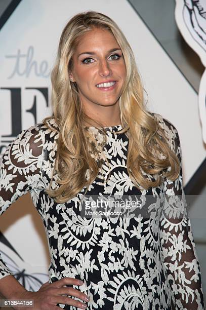 Player Elena Delle Donne attends The Knot Gala 2016 at the New York Public Library on October 10 2016 in New York City