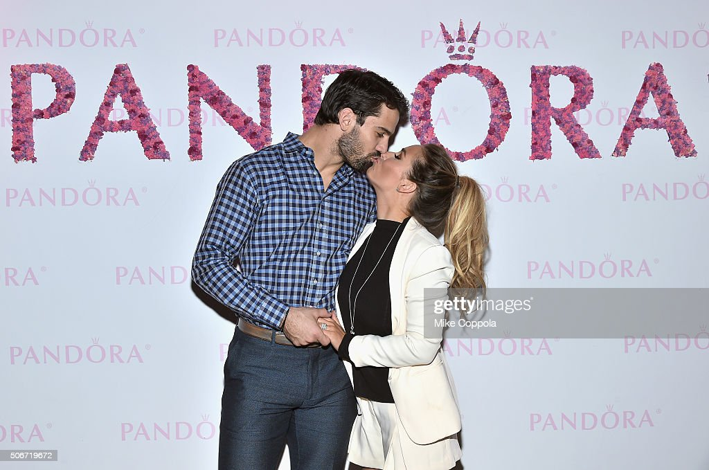 Eric And Jessie James Decker Celebrate The New PANDORA Jewelry Valentine's Day Collection