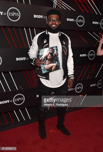 NFL player Ezekiel Elliott attends the BODY at The EPYS PreParty at Avalon Hollywood on July 11 2017 in Los Angeles California