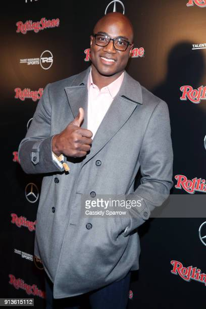 NFL player for Dallas Cowboys DeMarcus Ware at Rolling Stone Live Minneapolis presented by MercedesBenz and TIDAL Produced in partnership with Talent...