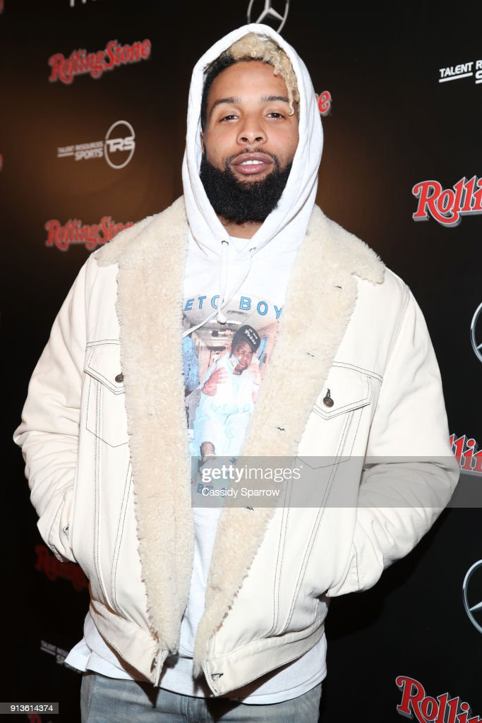 NFL player for New York Giants, Odell Beckham Jr. at Rolling Stone Live: Minneapolis presented by Mercedes-Benz and TIDAL. Produced in partnership with Talent Resources Sports on February 2, 2018 in Minneapolis, Minnesota.