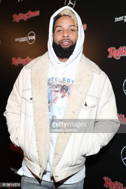 NFL player for New York Giants Odell Beckham Jr at Rolling Stone Live Minneapolis presented by MercedesBenz and TIDAL Produced in partnership with...