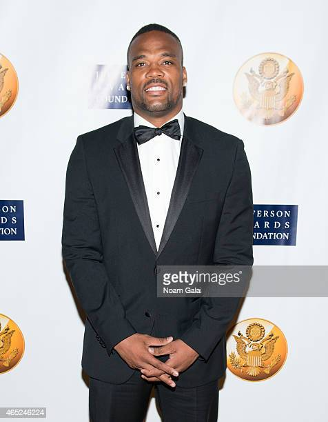 Player Fred Jackson attends the 2015 Jefferson Awards Foundation New York Ceremony at Gotham Hall on March 4 2015 in New York City